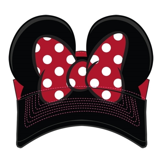 Picture of Disney Parks Exclusive Minnie Mouse Bow Visor Youth Hat