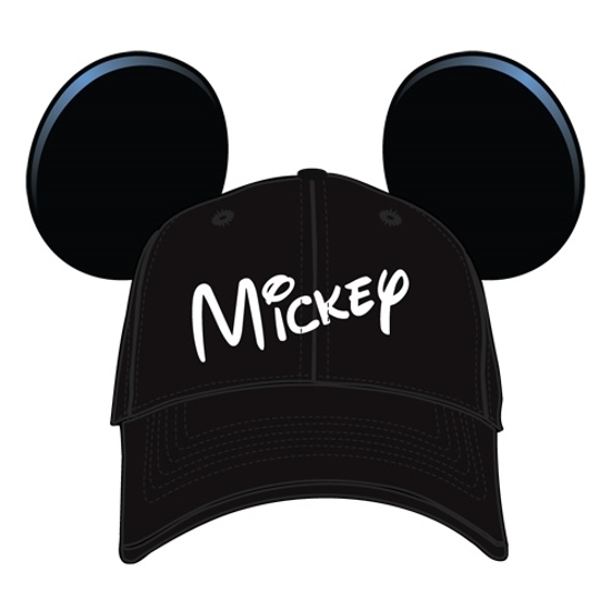 Picture of Disney Youth Hat Kids Cap with Mickey Mouse Ears (Mickey Black)