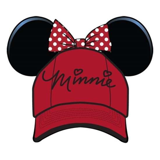 Picture of Disney Youth Hat Sassy Minnie with Ears Bow, Red