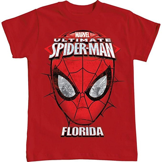 Picture of Disney Youth T-Shirt Spider-Man Spidey Eyes Classic Red