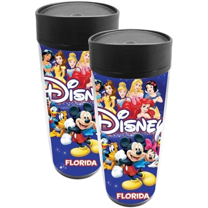 Picture of Disney Americana Character Mickey Group Travel Mug