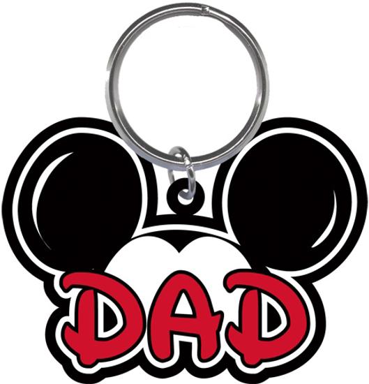 Picture of Disney Dad Fan Lasercut Keychain