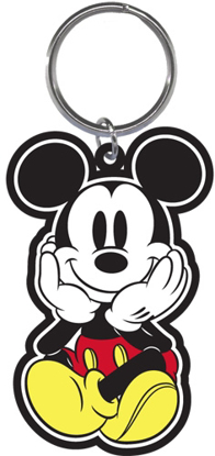 Picture of Disny Mickey Face Palm Lasercut Keychain