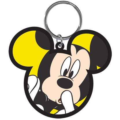 Picture of Disney Scared Mickey Lasercut Keychain