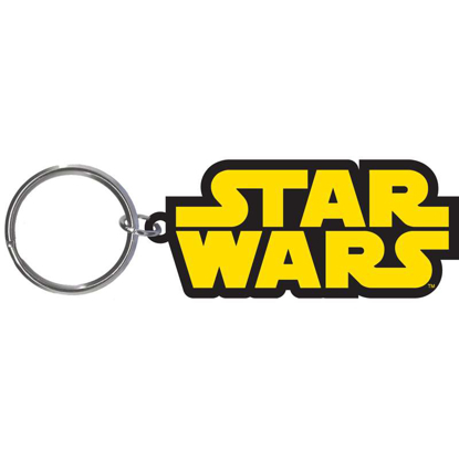 Picture of Disney Star Wars Logo Laser Keychain