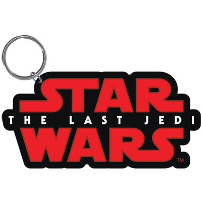 Picture of Disney Star Wars Logo The Last Jedi Laser Keychain