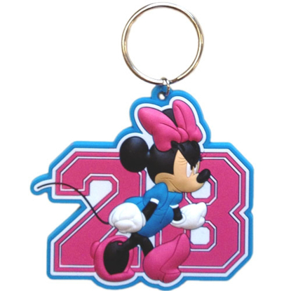 Picture of Minnie Diva Lasercut Keychain
