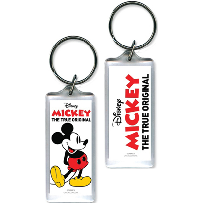 Picture of Disney Classic Mickey Mouse Lucite Keychain