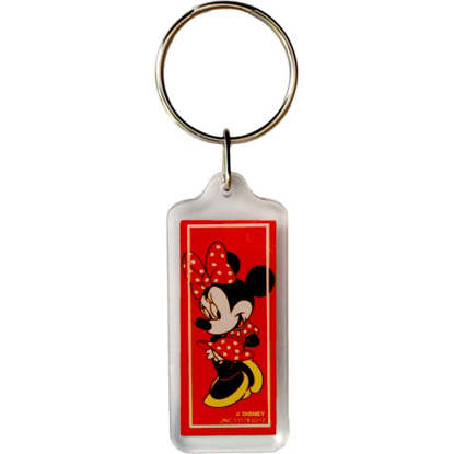 Picture of Disney Classic Minnie Red Lucite Key chain