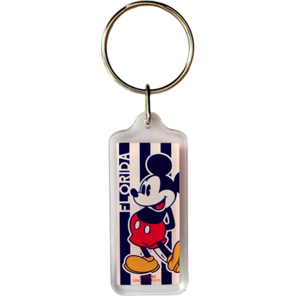 Picture of Mickey Mouse Beach Club Key chain (Florida Namedrop)
