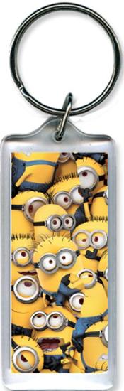 Picture of Disney Minion Crowd Lucite Key chain
