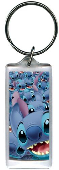 Picture of Disney Multi Stitch Lilo Lucite Keychain Keyring