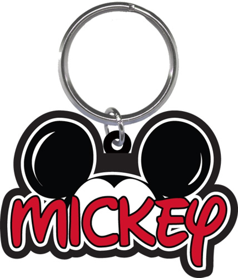 Picture of Disney Mickey Family collection Lasercut Keychain