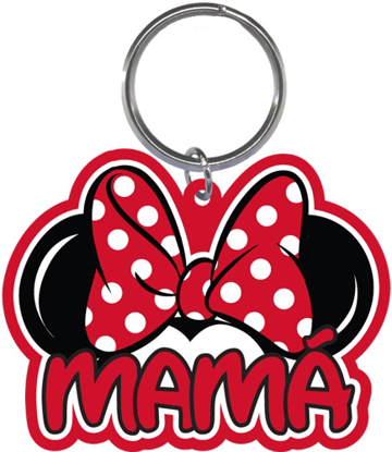 Picture of Disney Minnie Mouse Mama Family Collection Lasercut Keychain Keyring Key Chain