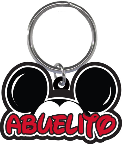 Picture of Disney Mickey Mouse Abeulito Grandpa Family Lasercut Keychain Keyring Key Chain