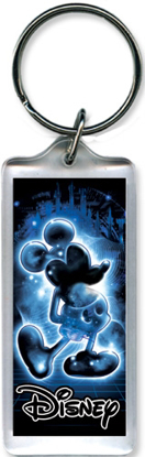 Picture of Disney Mickey Glow Lucite Keychain