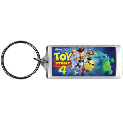 Picture of Disney Toy Story 4 Fun Group Woody, Buzz & more Lucite Keychain