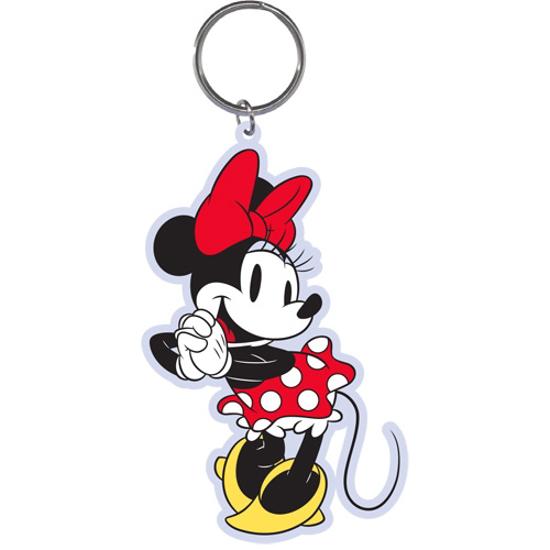 Picture of Disney Standing Minnie Lasercut Keychain