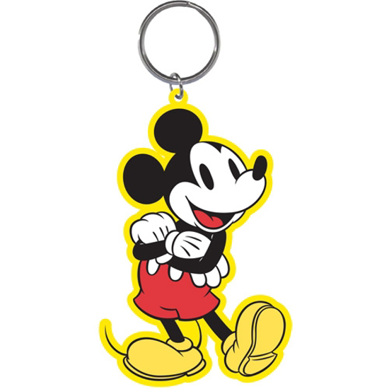 Picture of Disney Standing Mickey Lasercut Keychain