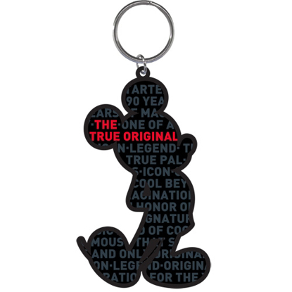 Picture of Disney Mickey's 90th Celebration Lasercut Keychain