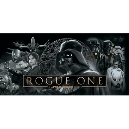 """Picture of Disney Rogue One Full Cast 28"""" x 58"""" Beach Towel"""