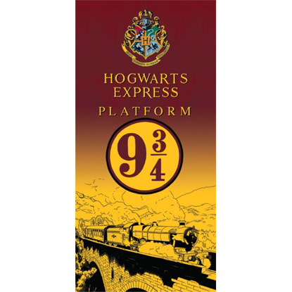 Picture of Disney Harry Potter Express 9 Train Beach Towel  28x58