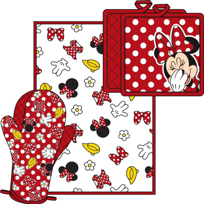 Picture of Disney Minnie Parts Kitchen Towel Set