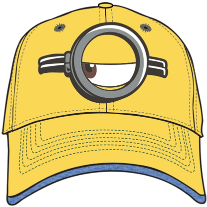 Picture of Disney Adult Hat Minion Look Left, Yellow