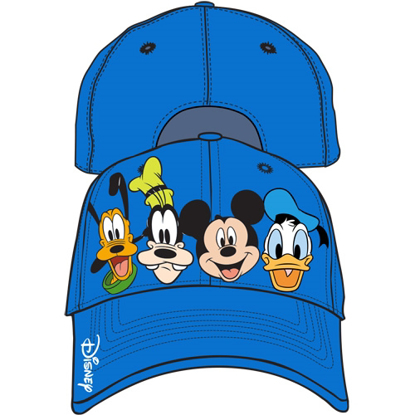 Picture of Disney Youth Crazy 4 Mickey Goofy Donald Pluto Baseball Hat, Multi