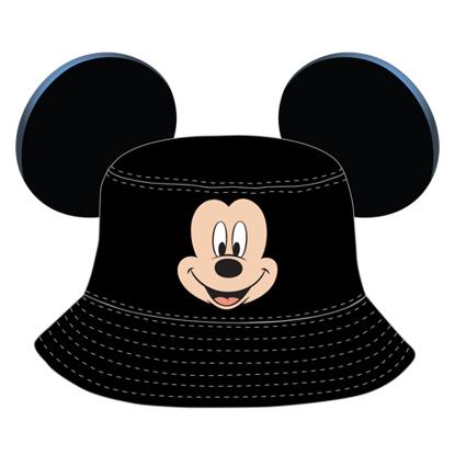 Picture of Disney Toddler Minnie Bucket Hat Black Hat