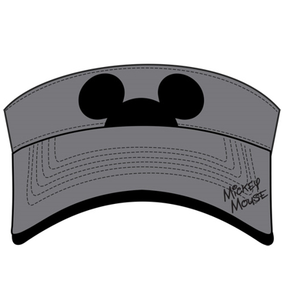 Picture of Disney Adult Hidden Mickey Visor Gray Visor