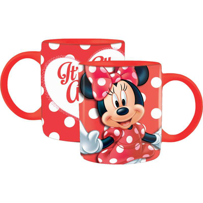 Picture of Disney Coffee Mug Big Heart Minnie Red mug
