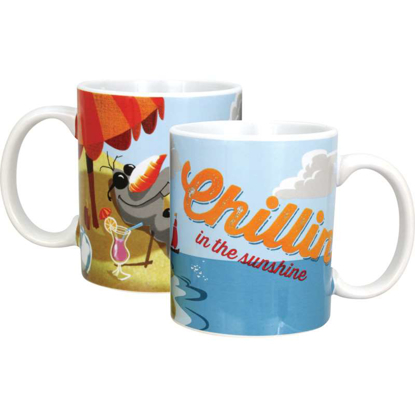 Picture of Disney Coffee Mug Frozen Chillin Olaf White mag