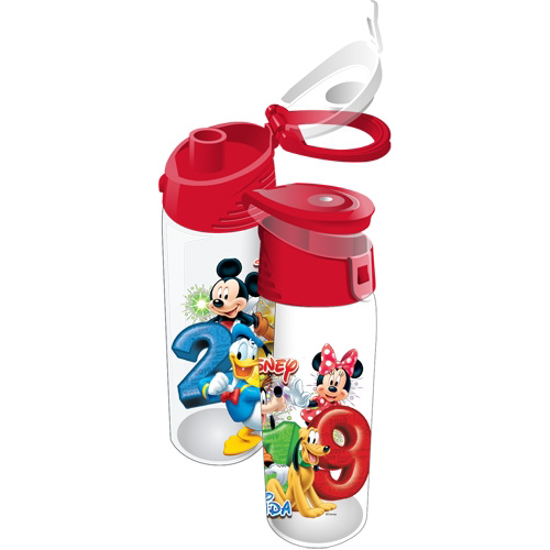 Picture of Disney 2019 Dated Stacked Mickey Minnie Goofy Donald Pluto Flip Top Tumbler Clea