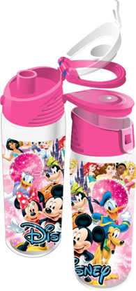 Picture of Disney Ensemble Group Mickey Minnie Goofy Donald Pluto Flip Top Bottle