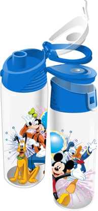 Picture of Disney Fiver Group Mickey Minnie Goofy Donald Pluto Flip Top Bottle