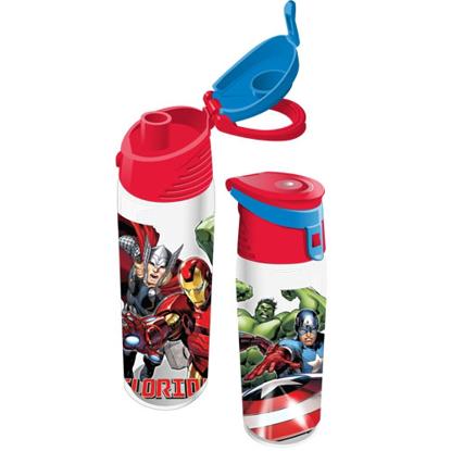 Picture of Disney Marvel Hulk Thor Iron Man Flip Top Bottle Florida Namedrop
