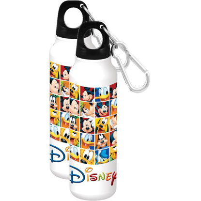 Picture of Disney Rubik's Disney Aluminum Water Bottle  Wide Mouth White Water Bottle