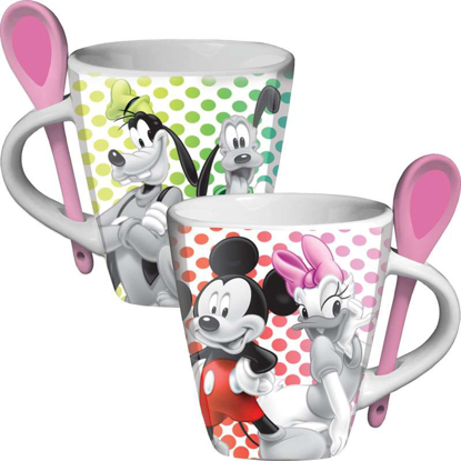 Picture of Disney Mickey Groupies Spoon Mug