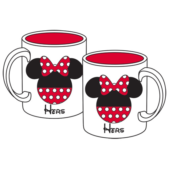 Disney Mickey Minnie Icons 11oz Mug