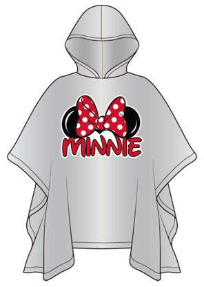 Picture of Disney Youth Minnie Family Rain Poncho