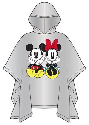 Picture of Disney Youth Mickey Minnie Sit Rain Poncho