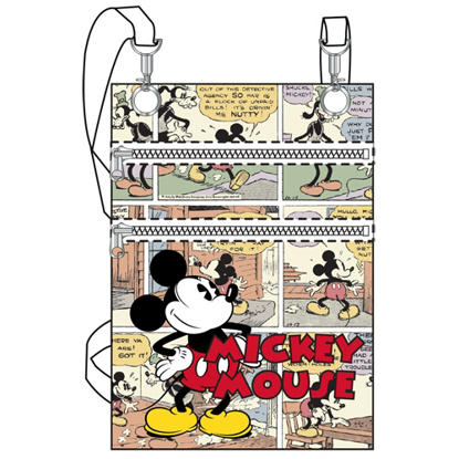 Picture of Disney Comic Mickey Mouse Passport Bag  White