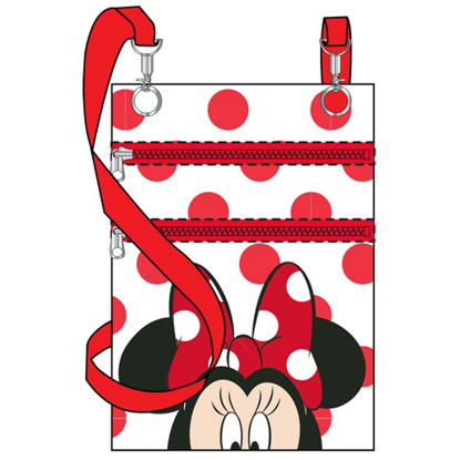 Picture of Disney Dotty Minnie Passport Bag  White