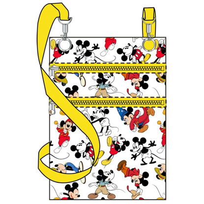 Picture of Disney Multi Mickey Mouse Passport Bag White