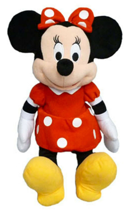Picture of Disney Minnie Mouse Red Dress Plush Doll 15 Inch doll