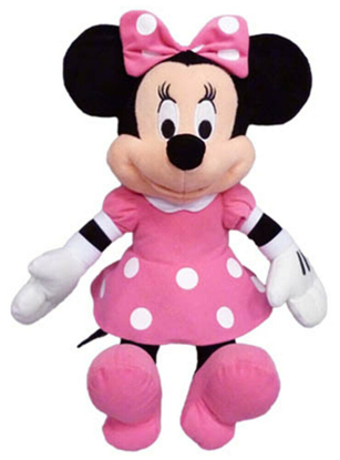 Picture of Disney Minnie Mouse Pink Dress Plush 19 Inch doll