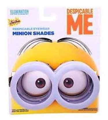 Picture of Disney Minions Sunstache Sunglasses