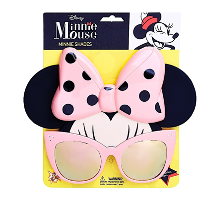 Picture of Minnie Mouse Pink Shades Sun stache Sunglasses