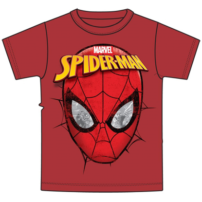 Picture of Disney Youth Boys T-Shirt Spidey Eyes Red